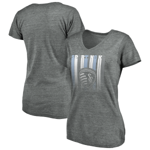 Sporting KC True Classics Tri-blend Fun Challenge V-Neck SS by Fanatics