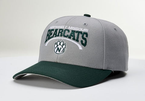 Northwest Missouri State Gray/Green Pro 514 Adjustable Hat by Richardson