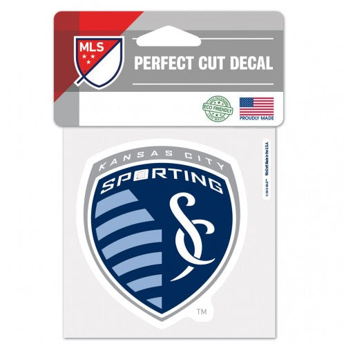 Sporting KC Perfect Cut  Decal by Wincraft