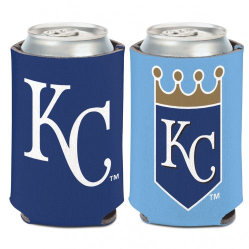 Kansas City Royals 12 oz. Crown/KC 2 Sided Can Coozi by Wincraft
