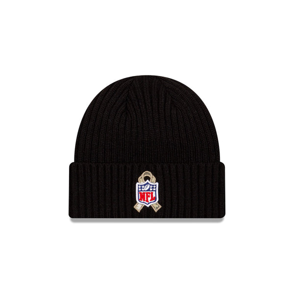 Kansas City Chiefs 2020 Salute To Service Black Knit by New Era