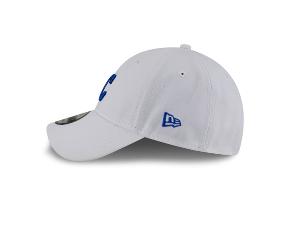 Kansas City Royals 2021 THE LEAGUE White Adjustable Hat by New Era