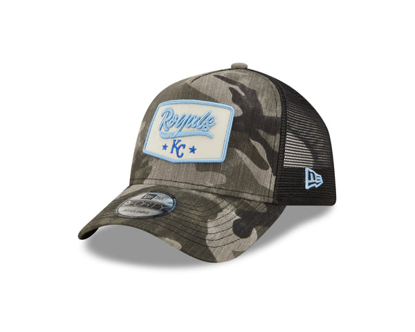 Kansas City Royals 2021 9FORTY Camo Patch Adjustable Hat by New Era
