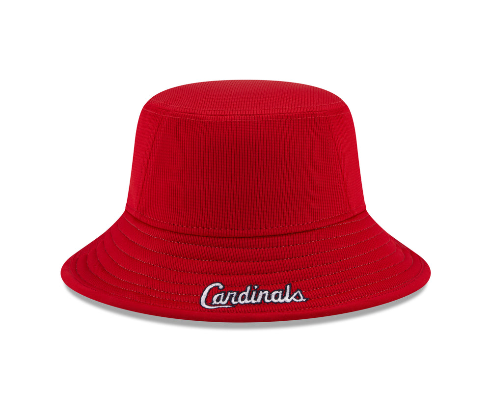 St. Louis Cardinals 2021 Red BUCKET Hat by New Era