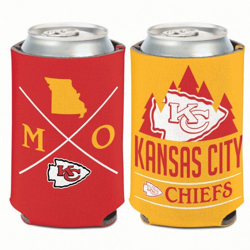 Kansas City Chiefs MO 2 Sided Coozi by WinCraft