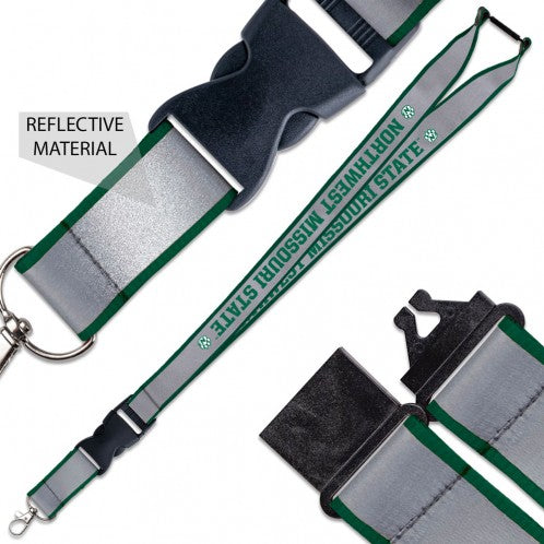 Northwest Missouri State University Reflective Lanyard by Wincraft