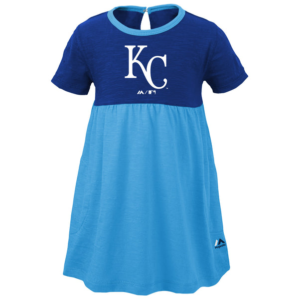 Kansas City Royals Kids 7th Inning Twirl Dress