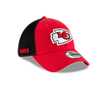 Kansas City Chiefs 2019 39THIRTY Hat by New Era Black Mesh