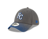 Kansas City Royals 39THIRTY Yourth Gray w/blue tint Hat by New Era