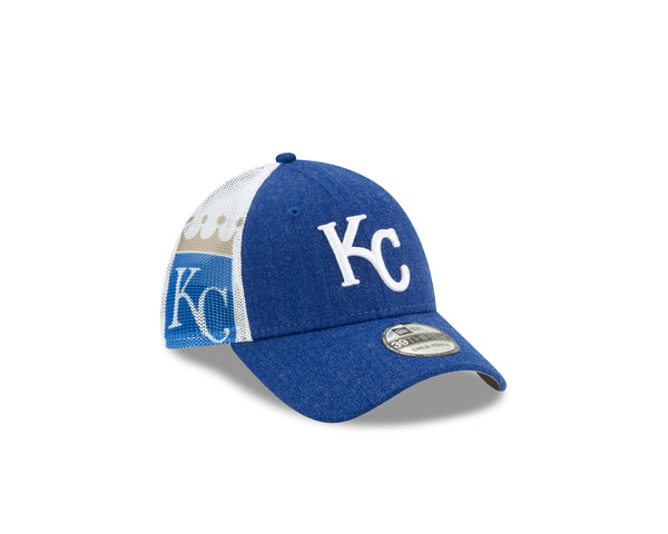 Kansas City Royals Youth 2020 39THIRTY Blue and White Hat by New Era
