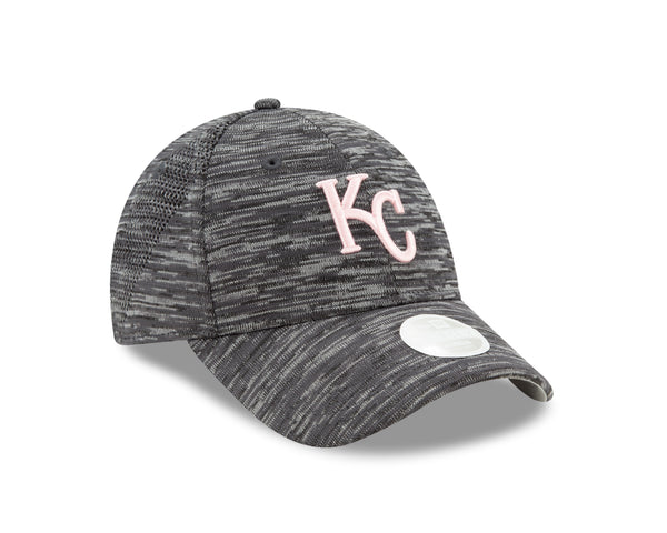 Kansas City Royals Women 2020 Adjustable 9FORTY Gray Hat by New Era
