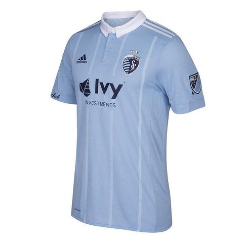 Sporting Kansas City 2017 Primary Men's Authentic Jersey by adidas