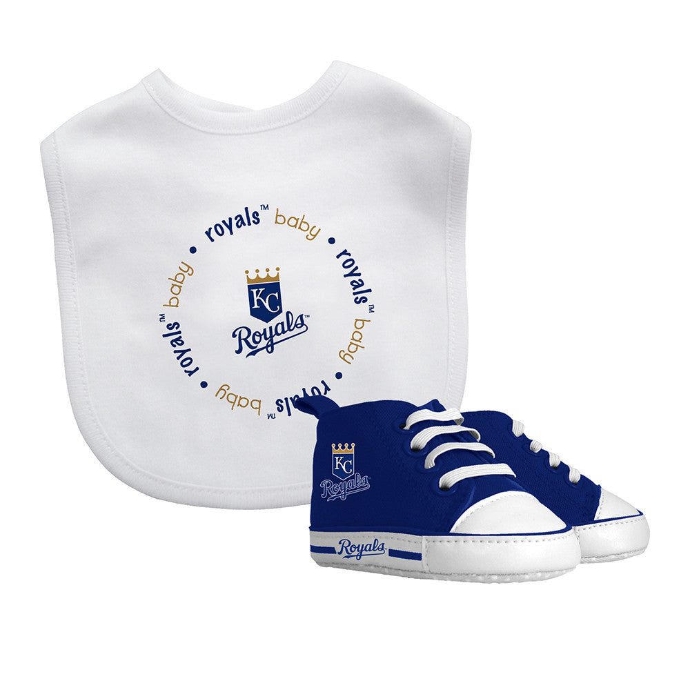 Kansas City Royals Bib & Pre-Walker Gift Set