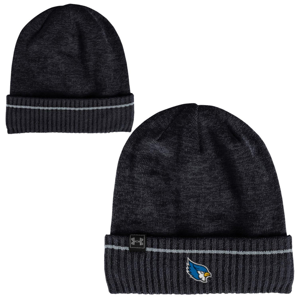 Liberty Blue Jays Black Skull Knit Hat by Under Armour