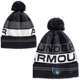 Liberty Blue Jays Pom Black Knit Hat by Under Armour