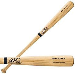 Rawlings Adirondack Signature Blonde Ash Wood Baseball Bat