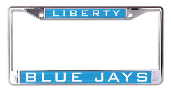 Liberty Blue Jays Acrylic Inlaid License Plate Frame
