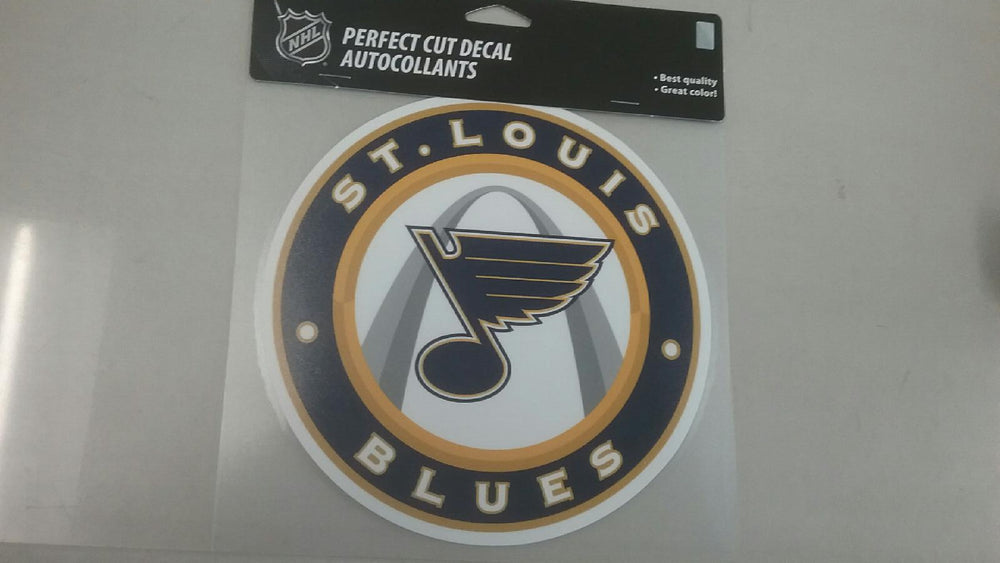 "St. Louis Blues 8""x8"" Perfect Cut Decal by Wincraft"