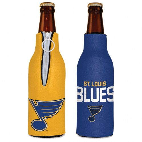 St. Louis Blues Zip Up Bottle Cooler