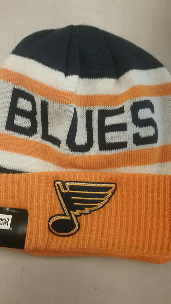 St. Louis Blues Biggest Fan 2 Knit Hat by New Era