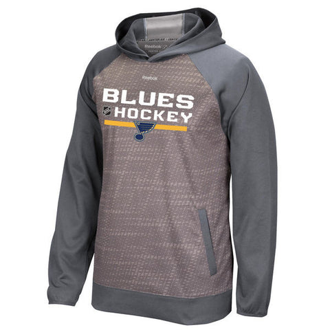 St. Louis Blues On Ice TNT Hooded Pullover Sweatshirt by Reebok