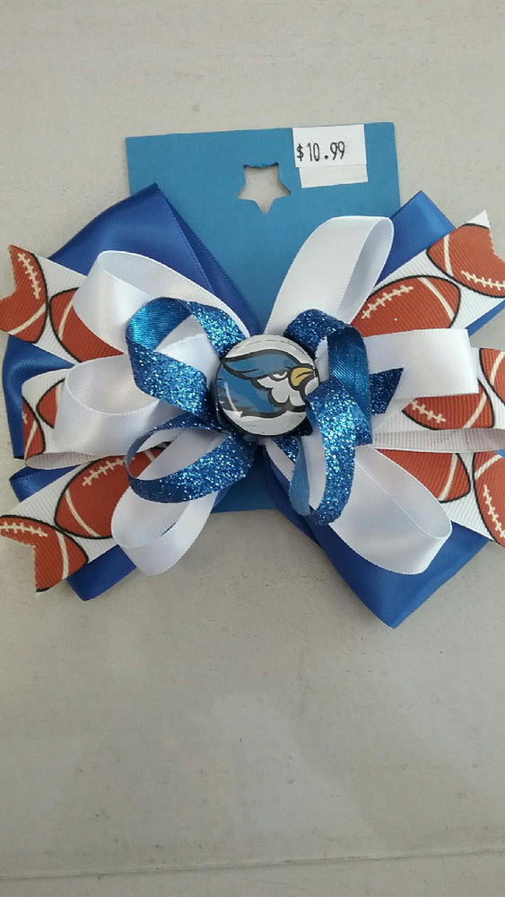 Liberty Blue Jays Assorted Hair Bows