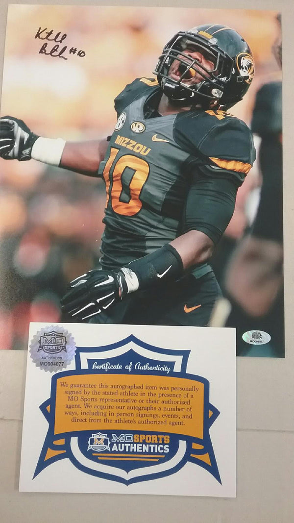 "Missouri Tigers Signed Autographed Kentrell Brothers 8""x10"" Photo COA CLEARANCE"