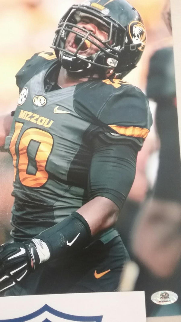 Missouri Tigers Signed Autographed Kentrell Brothers 8