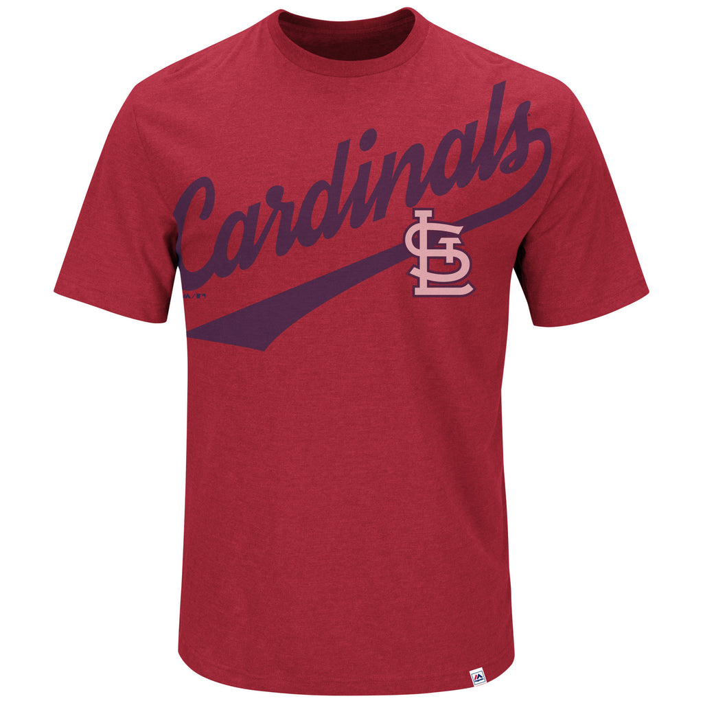 St. Louis Cardinals Roll With The Punches T-Shirt by Majestic