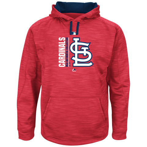St. Louis Cardinals Team Icon Clubhouse Fleece by Majestic