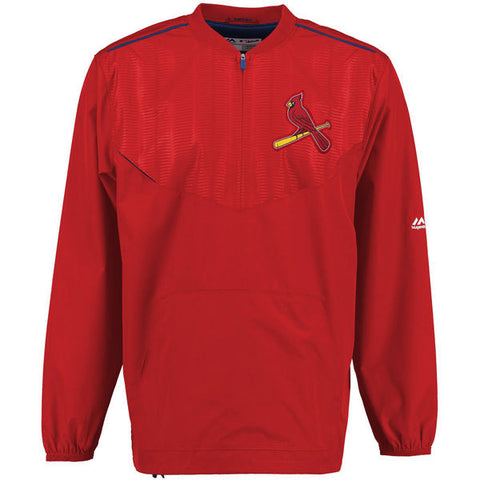 St. Louis Cardinals Official Training Jacket by Majestic