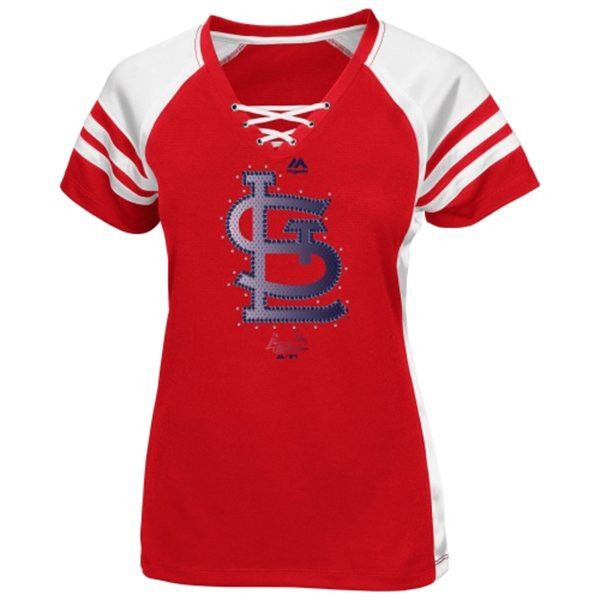 St. Louis Cardinals Draft Me Fashion T-Shirt by Majestic