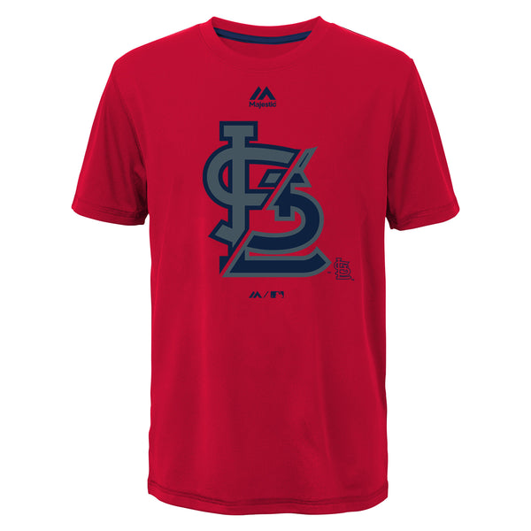 St. Louis Cardinals Boys Split Series Ultra Short Sleeve T-Shirt