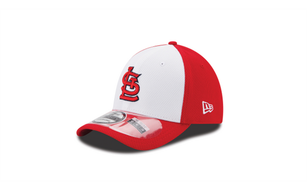 St. Louis Cardinals White Front 39THIRTY Hat by New Era