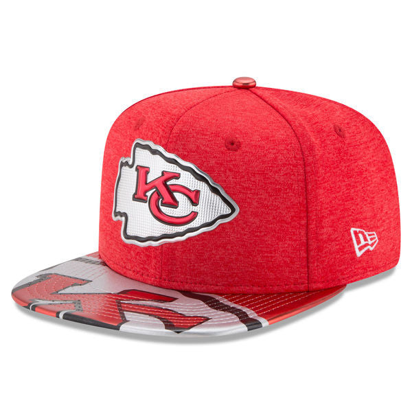 Kansas City Chiefs 2017 On Stage NFL Draft 9FIFTY Snapback Hat by New Era