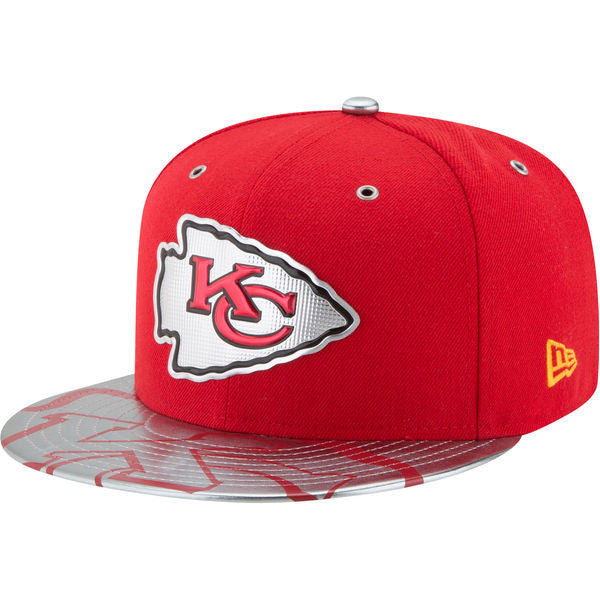 Kansas City Chiefs 2017 Spotlight NFL Draft 59FIFTY Hat by New Era