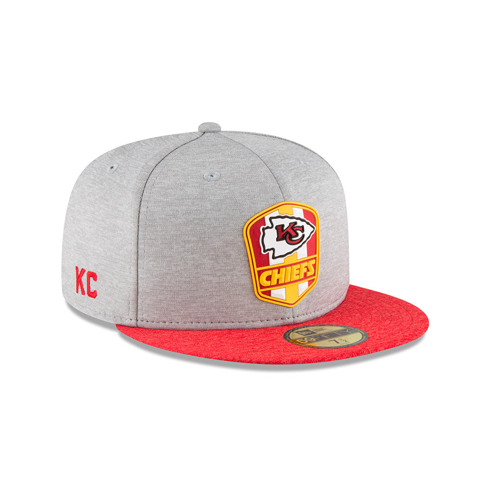 super popular 49a01 c5065 Kansas City Chiefs Road 2018 On Field 59FIFTY Hat by New Era