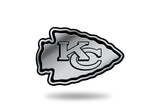 Kansas City Chiefs Chrome Auto Emblem by Rico