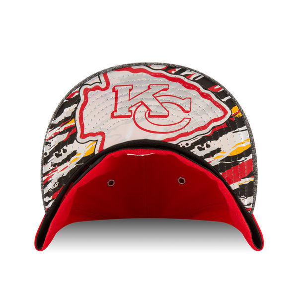 6c594437 Kansas City Chiefs New Era 2016 NFL Draft On Stage 59FIFTY Fitted Hat -  Red/Heathered Gray