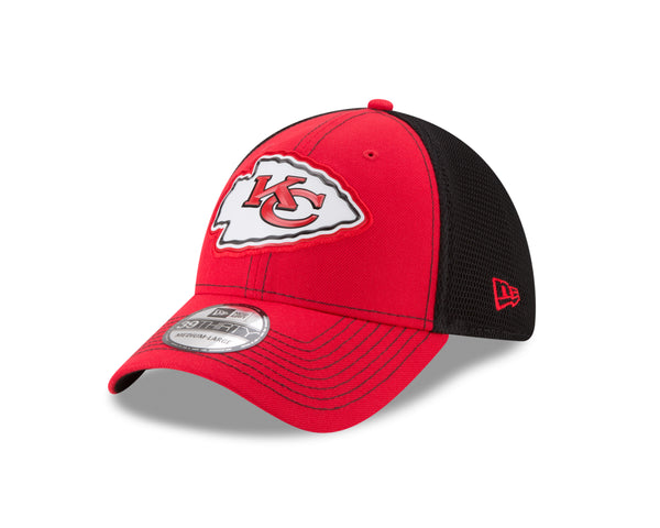 Kansas City Chiefs Fan Mesh 39THIRTY Hat by New Era