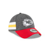 Kansas City Chiefs Graphite Home 2018 Sideline 39THIRTY Hat by New Era