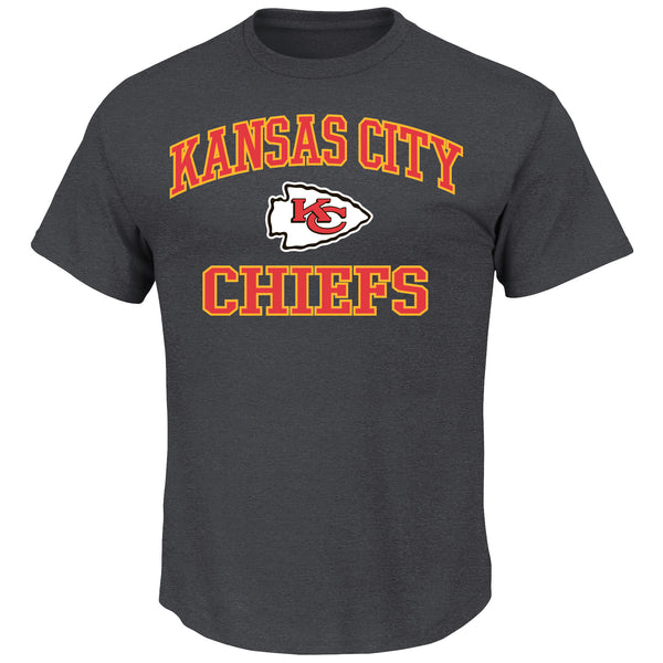 Kansas City Chiefs Heart & Soul III T-Shirt by Majestic