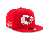 Kansas City Chiefs Chiefs Kingdom Side Patch 59FIFTY Fitted Hat by New Era