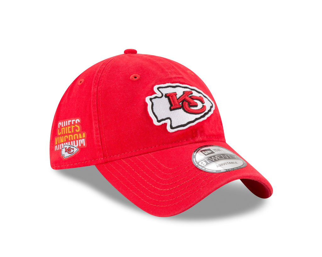 Kansas City Chiefs Chiefs Kingdom Side Patch 9TWENTY Adjustable Hat by New Era