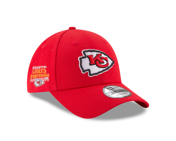 Kansas City Chiefs Chiefs Kingdom Side Patch 9FORTY Adjustable Hat by New Era