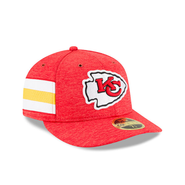 Kansas City Chiefs 2018 Sideline Low Profile Fitted 59FIFTY by New Era