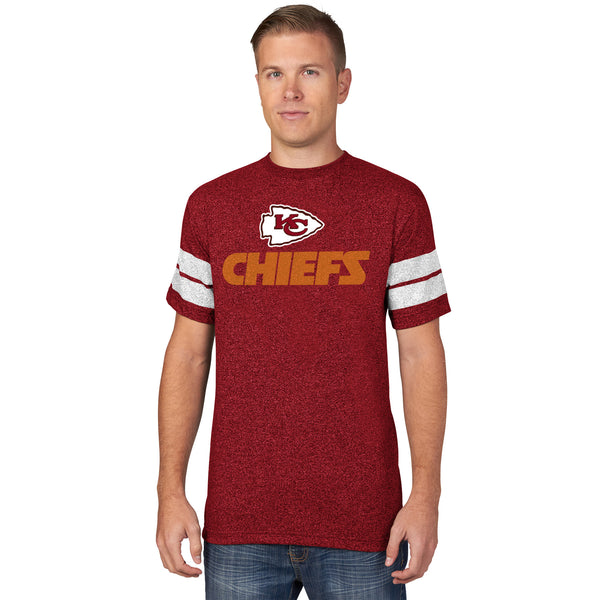 Kansas City Chiefs Past The Limit Short Sleeve T-Shirt by Majestic