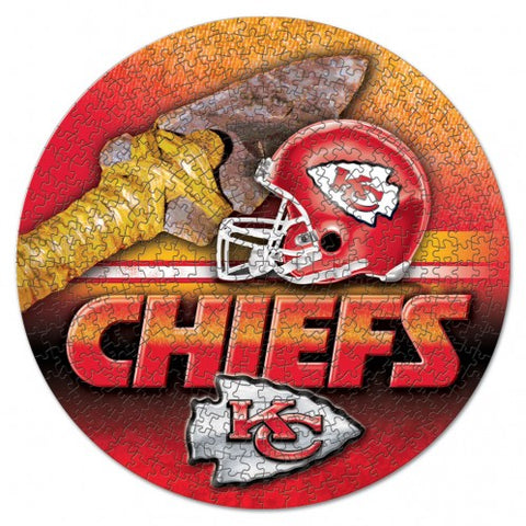 Kansas City Chiefs 500 pc Puzzle in Box