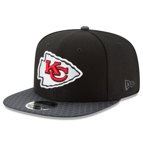 Kansas City Chiefs 2017 NFL Sideline Adjustable 9FIFTY Snapback Hat by New Era