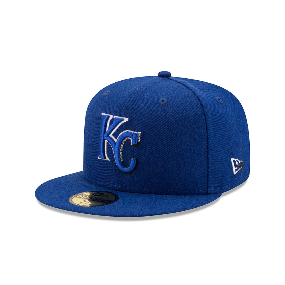 Kansas City Royals Color Dim Fitted 59FIFTY Hat by New Era
